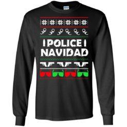 Police Navidad Christmas sweatshirt shirt - image 4080 247x247