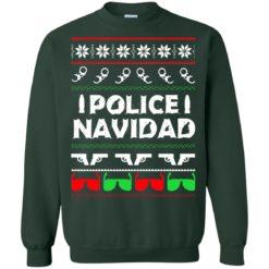 Police Navidad Christmas sweatshirt shirt - image 4086 247x247