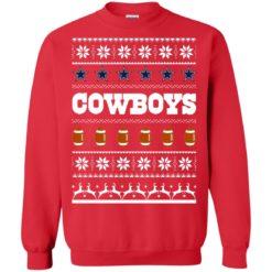 CowBoys Christmas Ugly sweatshirt shirt - image 4115 247x247