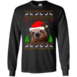 Sloth Christmas sweatshirt shirt - image 4270 247x247