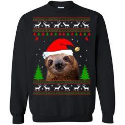 Sloth Christmas sweatshirt shirt - image 4273 247x247