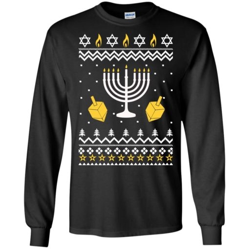 Happy Hanukkah Ugly Christmas Sweater shirt - image 4390 510x510