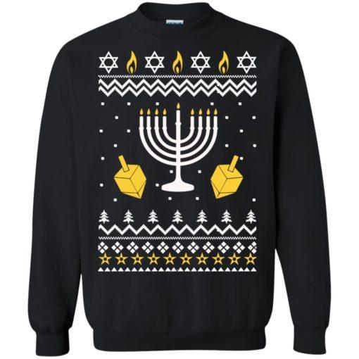 Happy Hanukkah Ugly Christmas Sweater shirt - image 4393 510x510