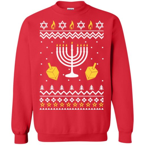 Happy Hanukkah Ugly Christmas Sweater shirt - image 4395 510x510