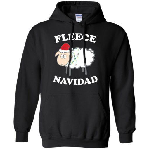 Fleece Navidad Sheep Christmas sweater shirt - image 4442 510x510