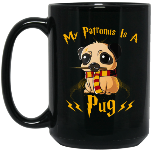 My Patronus Is A pug mug shirt - image 45 510x510
