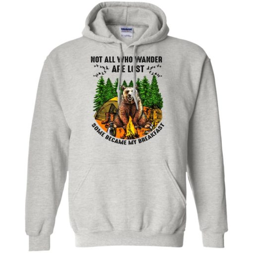 Not all who wander are lost some became my breakfast shirt - image 4601 510x510