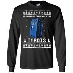 All I Want For Christmas Is The Tardis Christmas sweatshirt shirt - image 4698 247x247