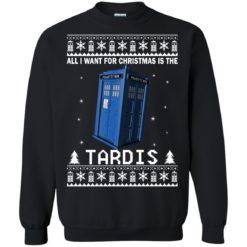 All I Want For Christmas Is The Tardis Christmas sweatshirt shirt - image 4701 247x247