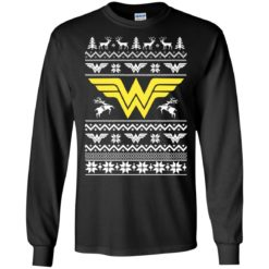 Wonder Woman Christmas Ugly sweater shirt - image 4728 247x247