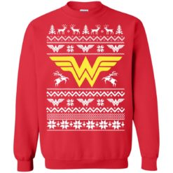 Wonder Woman Christmas Ugly sweater shirt - image 4733 247x247