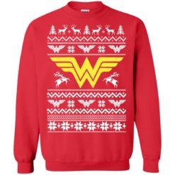 Wonder Woman Christmas Ugly sweater shirt - image 4733 247x247
