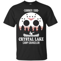 Jason Voorhees Summer 1980 camp crystal lake shirt - image 475 247x247