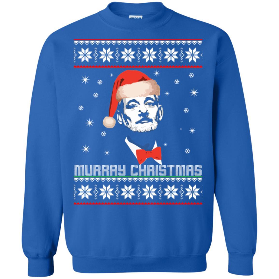 Murray Christmas ugly sweater, hoodie, long sleeve