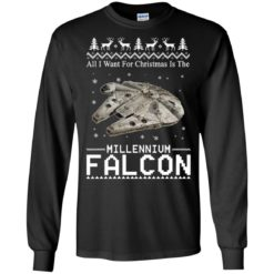 All I Want For Christmas Is The Millennium Falcon Sweatshirt shirt - image 4928 247x247