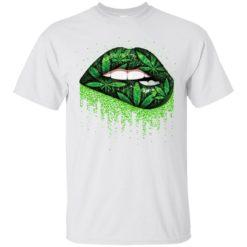 Weed lips love shirt - image 508 247x247