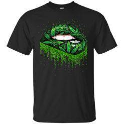 Weed lips love shirt - image 509 247x247
