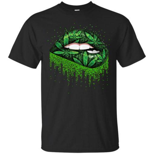 Weed lips love shirt - image 509 510x510