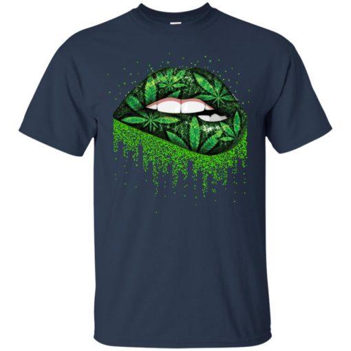 Weed lips love shirt - image 510 510x510