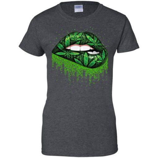 Weed lips love shirt - image 517 510x510