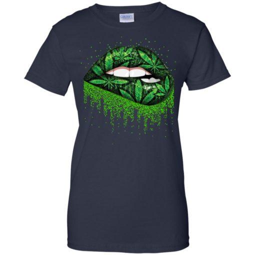 Weed lips love shirt - image 518 510x510