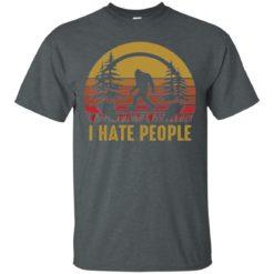 Bigfoot I hate people shirt - image 5271 247x247