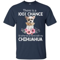 There is a 100% chance I'd rather be at home with my Chihuahua shirt - image 5356 247x247