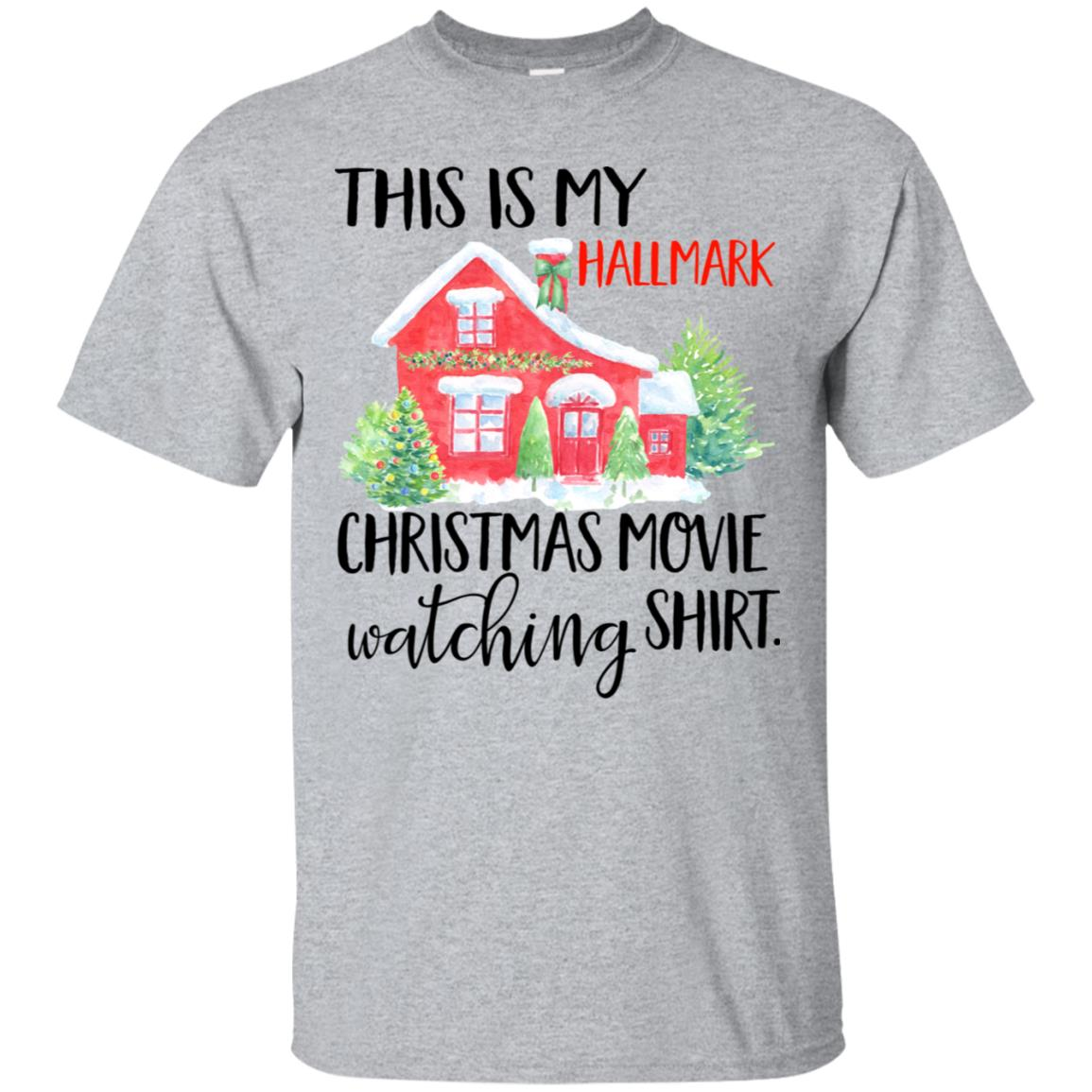 ac329b07515 This is my Hallmark christmas movie watching shirt shirt - image 5448  510x510