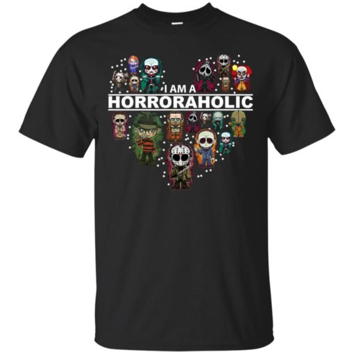 I am a Horror Aholic shirt - image 607 510x510