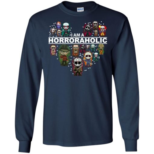 I am a Horror Aholic shirt - image 611 510x510