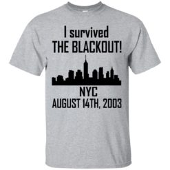 I Survived the NYC Blackout of 2003 shirt - image 662 247x247