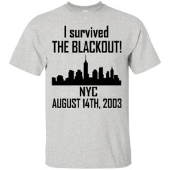 I Survived the NYC Blackout of 2003 shirt - image 663 247x247