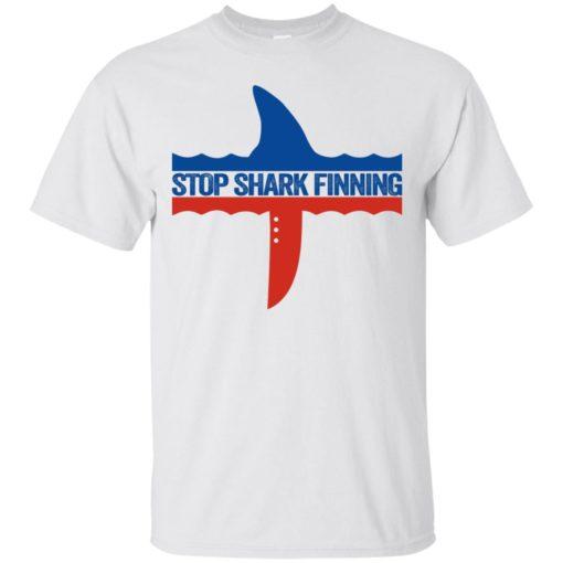 Stop Shark Finning shirt - image 795 510x510