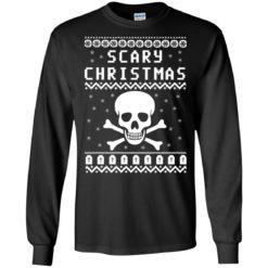 Scary Skull Christmas Sweater shirt - image 1085 247x247