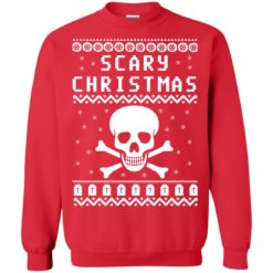 Scary Skull Christmas Sweater shirt - image 1090 247x247