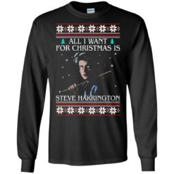 All i want for Christmas is Steve Harrington ugly sweatshirt shirt - image 1175 247x247