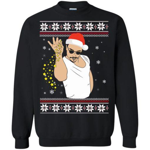 Salt Bae Christmas sweatshirt shirt - image 1218 510x510