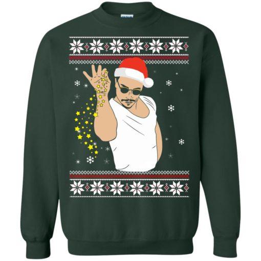Salt Bae Christmas sweatshirt shirt - image 1221 510x510