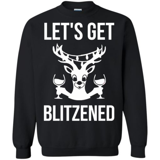 Let's get Blitzened Christmas sweater shirt - image 1278 510x510