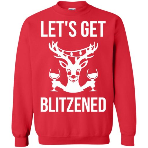 Let's get Blitzened Christmas sweater shirt - image 1280 510x510
