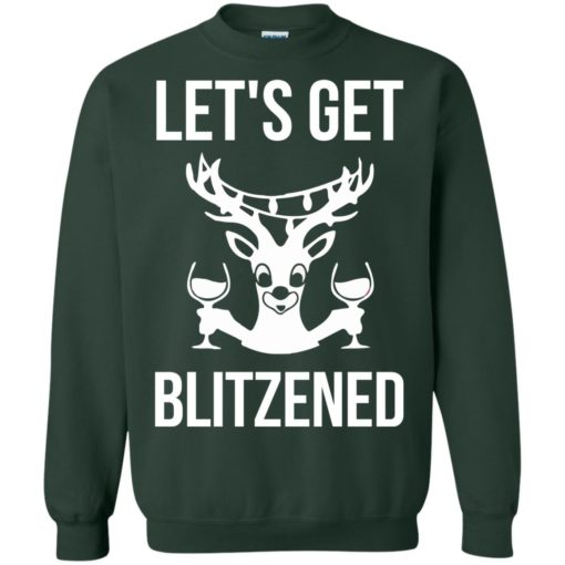 Let's get Blitzened Christmas sweater shirt - image 1281 510x510