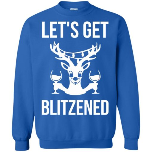 Let's get Blitzened Christmas sweater shirt - image 1282 510x510