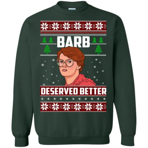 Barb Deserved Better Christmas Sweater shirt - image 1301 510x510