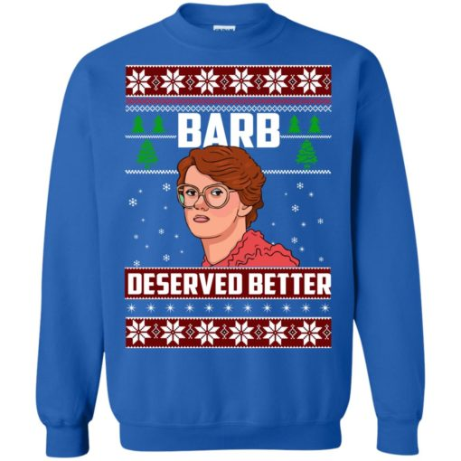 Barb Deserved Better Christmas Sweater shirt - image 1302 510x510