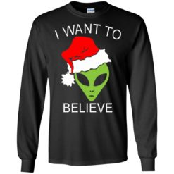 Alien I Want To Believe Christmas sweatshirt shirt - image 1315 247x247