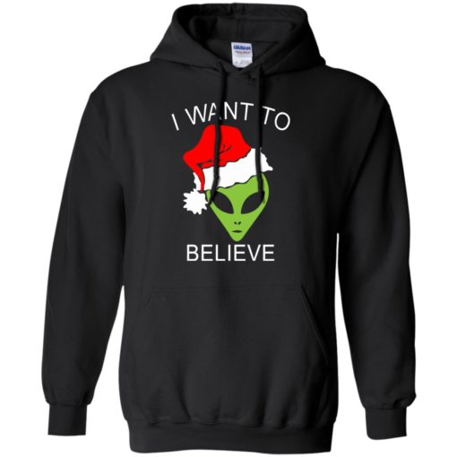 Alien I Want To Believe Christmas sweatshirt shirt - image 1317 510x510
