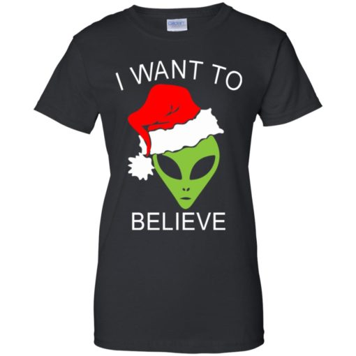 Alien I Want To Believe Christmas sweatshirt shirt - image 1323 510x510