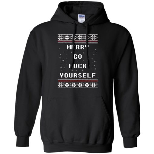 Merry go fuck yourself Christmas sweatshirt shirt - image 1357 510x510