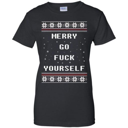 Merry go fuck yourself Christmas sweatshirt shirt - image 1363 510x510