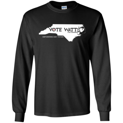 Vote watts for congress Empowering our future shirt - image 1607 510x510